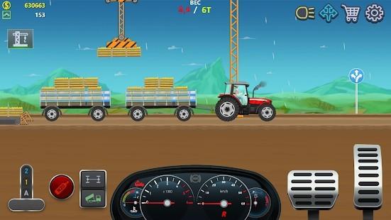 Trucker Real Wheels Simulator Para Hileli MOD APK [v3.6.0] 1