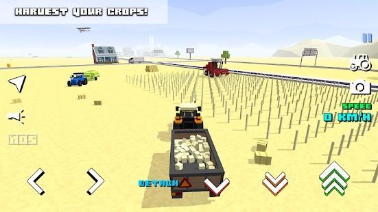 Blocky Farm Racing Simulator Para Hileli MOD APK [v1.43] 3