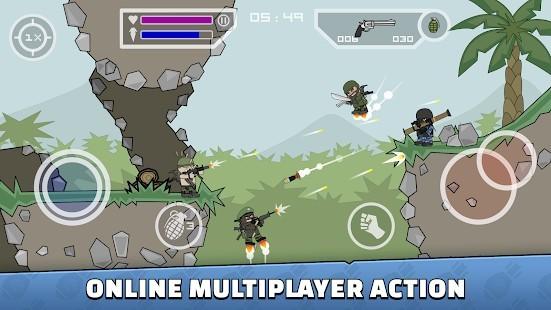 Mini Militia - Doodle Army 2 El Bombası Hileli MOD APK [v5.3.6] 6