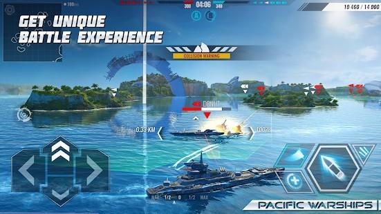 Pacific Warships Naval PvP Mermi Hileli MOD APK [v1.1.04] 6