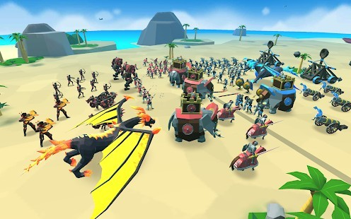 Epic Battle Simulator 2 Elmas Hileli MOD APK [v1.5.50] 4
