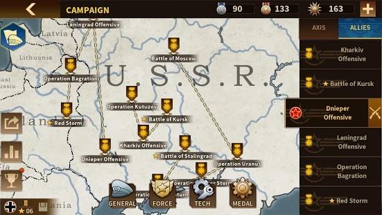 Glory of Generals 3 Madalya Hilesi MOD APK [v1.1.0] 2