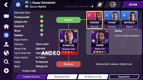 [Son Sürüm] FM 2021 Mobile - Football Manager TEK APK MOD indir [v12.3.1] 4