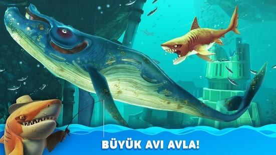 Hungry Shark World Para Hileli MOD APK [v4.4.2] 1