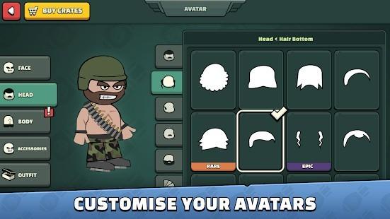 Mini Militia - Doodle Army 2 El Bombası Hileli MOD APK [v5.3.6] 3