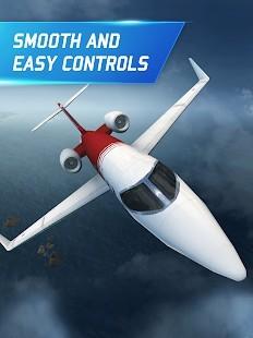 Flight Pilot Simulator 3D Para Hileli MOD APK [v2.4.3] 4