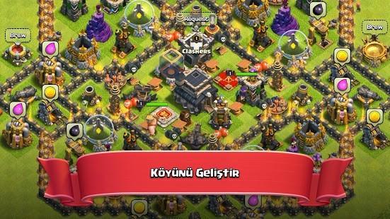 Nulls Clash of Clans Full Hileli MOD APK [v14.93.11] 5