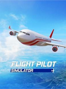 Flight Pilot Simulator 3D Para Hileli MOD APK [v2.4.3] 2