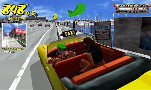 Crazy Taxi Classic Reklamsız MOD APK [v4.5] 5