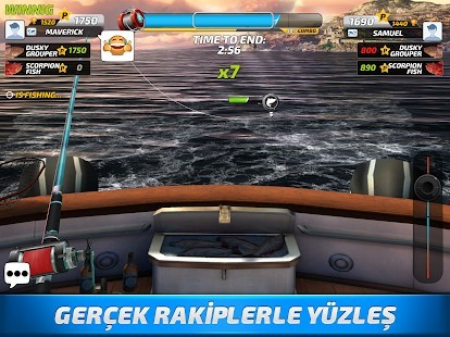 Fishing Clash Mega Hileli MOD APK [v1.0.153] 4