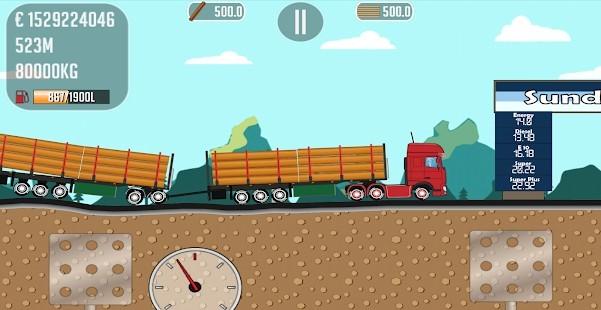 Trucker Joe Para Hileli MOD APK [v0.2.7] 3