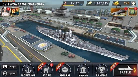 WARSHIP BATTLE 3D World War II Para Hileli MOD APK [v3.4.0] 4