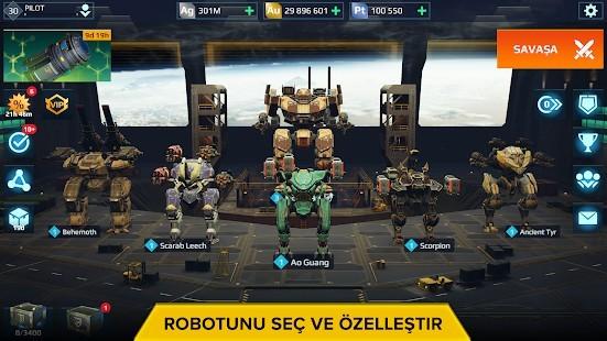 War Robots Mermi Hileli MOD APK [v7.4.1] 2