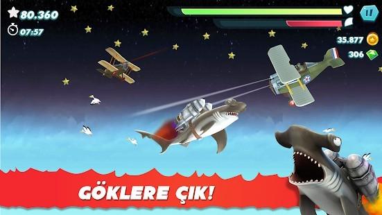 Hungry Shark Evolution Elmas Hileli MOD APK [v8.8.6] 4