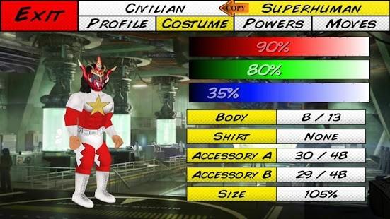 Super City (Superhero Sim) Tam Sürüm MOD APK [v1.233] 4