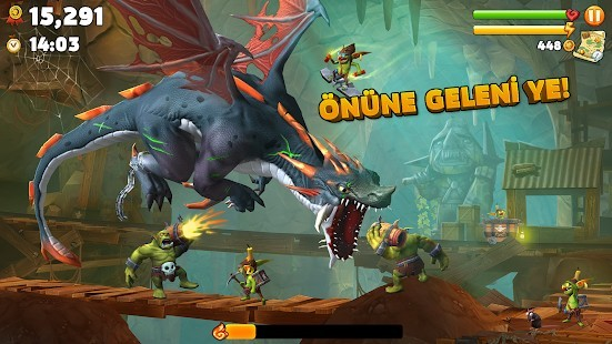 Hungry Dragon Elmas Hileli MOD APK [v3.14] 5