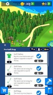 Idle Golf Club Manager Tycoon Para Hileli MOD APK [v0.9.0] 4