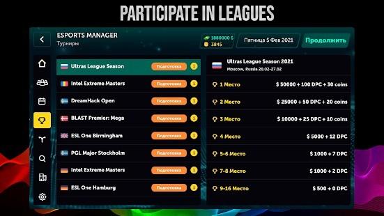 Esports Manager Simulator Full MOD APK [v1.0.60] 2