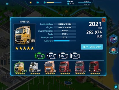 Virtual Truck Manager 2 Hileli MOD APK [v1.0.10] 5