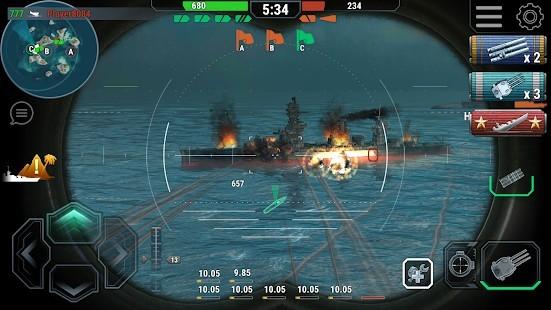 Warships Universe Naval Battle Para Hileli MOD APK [v0.8.2] 4