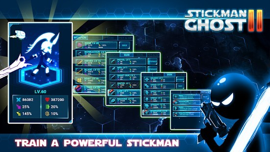 Stickman Ghost 2 Galaxy Wars Para Hileli MOD APK [v7.5] 4