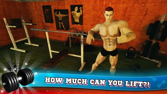 Fitness Salonu Vücut Geliştirme Pompası Para Hileli MOD APK [v6.5] 2