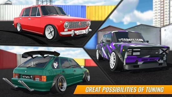 Russian Car Drift Para Hileli MOD APK [v1.9] 5