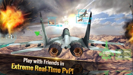 Ace Fighter Para Hileli MOD APK [v2.61] 4