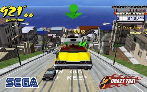 Crazy Taxi Classic Reklamsız MOD APK [v4.5] 3