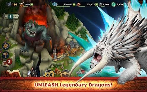 Dragons Rise of Berk Rün Hileli MOD APK [v1.59.4] 2
